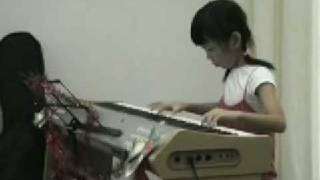 Ethel Poh (7-year-old) at Christmas Music Performance 2008 - 蒲公英的约定