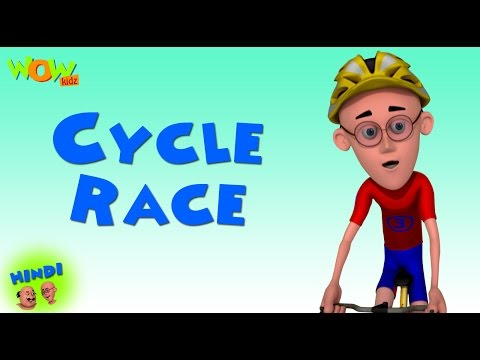 Cycle Race  - Motu Patlu in Hindi - ENGLISH & FRENCH, SPANISH SUBTITLES! - 3D Animation Cartoon thumbnail