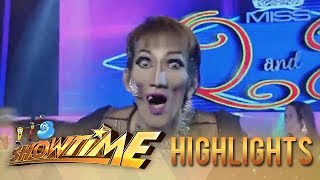 It's Showtime Miss Q & A: Anne gets scared of Candidate no. 3