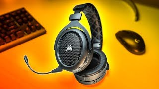 New Wireless Gaming Headset CHAMPION! Corsair HS70