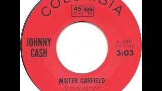 Watch Johnny Cash Mister Garfield video