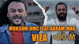 Download VIZA - MON3OM-DMC FEAT AKRAM-MAG 3Gp Mp4