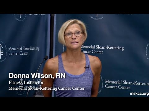 Exercise for Cancer Survivors -- Sloan-Kettering