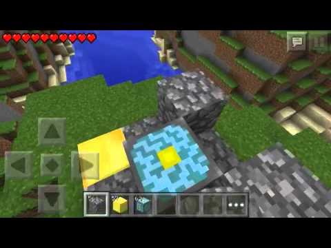 Minecraft Pocket Edition - ทำประตูนรก Version 0.8.1