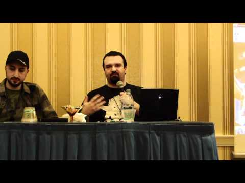MAGFest 2012 - DarksydePhil Panel pt1