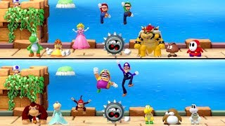 Super Mario Party - All 8 Vs. 8 Minigames