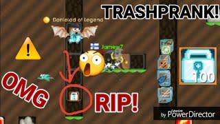 (14.4 MB) TRASH OR 100DLS ( Trash Prank! ) OMG - Growtopia Mp3