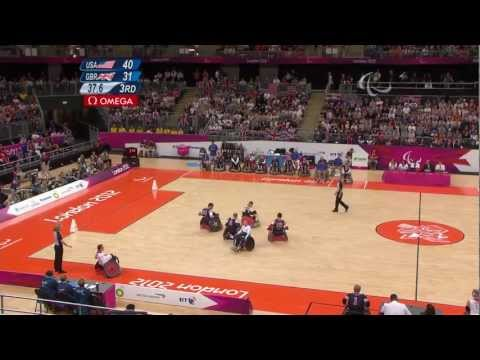 Wheelchair Rugby - USA versus GBR - LIVE - 2012 London Paralympic Games
