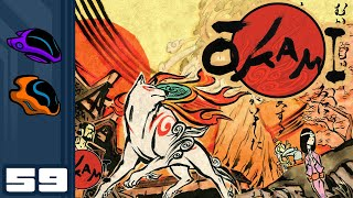 Let's Play Okami [HD Remaster] - PC Gameplay Part 59 - Brute Force Waves The Day!