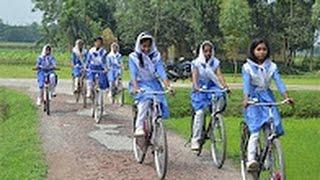 Kushtia Girls Cycle Race | কুষ্টিয়ার সাইকেল বালিকাদের কান্ড দেখুন