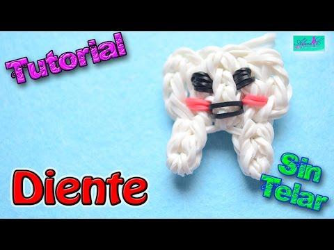 ♥ Tutorial: Diente de gomitas (sin telar) ♥