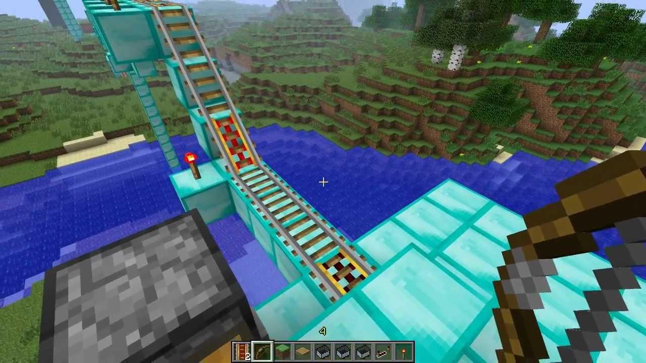 Minecart Tracks to Build Minecart Tracks