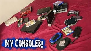 Our Console Collection! + PS4 !!!