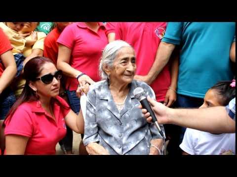 Homenaje a María Magdalena Vera por su cumpleaños número 100