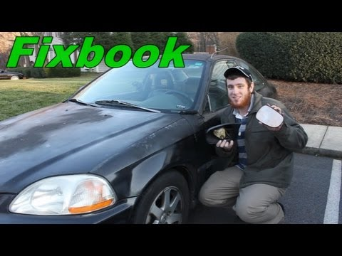 Side Mirror Remove & Install 96-00 Honda Civic