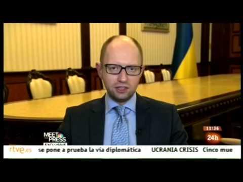 Arseniy Yatsenyuk. Putin y la URSS 2.0