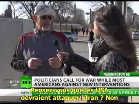 RT:  les Américains opposés à une nouvelle guerre S/T