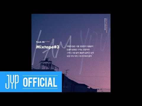 "Stray Kids 〈I am YOU〉 Inst. Lyric Card 8 ""Mixtape#3"""