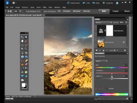 Zmiana zdjęcia na czarno-białe - Photoshop [kurs wideo]