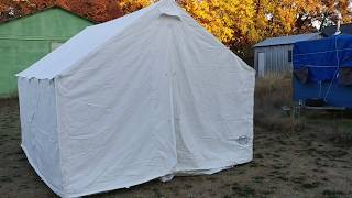 Sportsman's Guide 10' x 12' Guide Gear Canvas Wall Tent