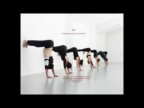 Rutina de elongación para bailarines.
