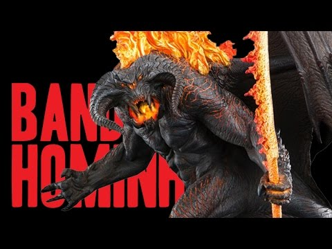Bando de Hominho - LOTR Balrog Demon of Shadow and Flame Statue by Weta