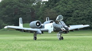 Two Giant Rc Warthog A-10 Thunderbolt II