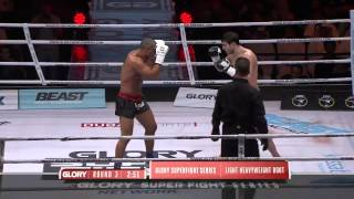 Glory 20 Super Fight Series Artem Vakhitov vs  Saulo Cavalari