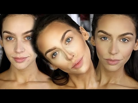 How I Highlight & Contour! FULL FACE ROUTINE UPDATE!