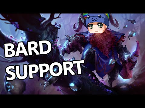 League of Legends - Bard Support - Full Game Commentary
