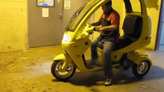 The AutoMoto Scooter