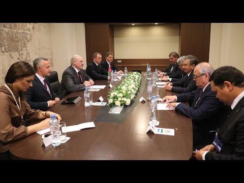 Беларусь готова максимально быстро развивать отношения с Узбекистаном - Лукашенко