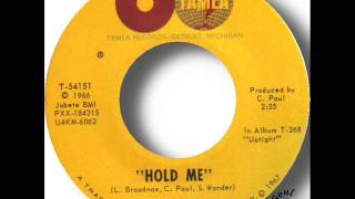 Watch Stevie Wonder Hold Me video