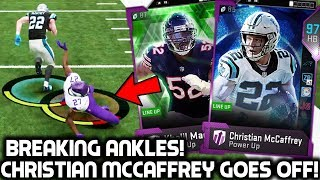 MUST SEE JUKES! CHRISTIAN MCCAFFREY BREAKING ANKLES! Madden 19 Ultimate Team