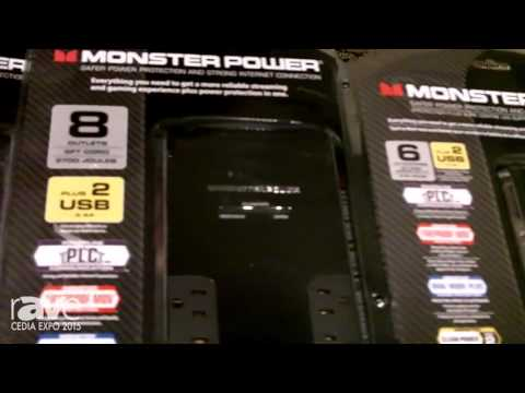 CEDIA 2015: Monster Cable Introduces Fireproof Black Platinum Power Centers With Clean Power, PLC
