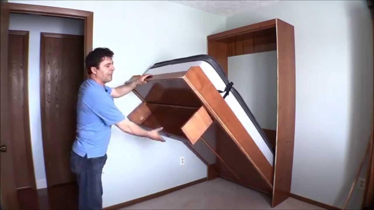 Как сделать встраиваемую кровать своими руками 21