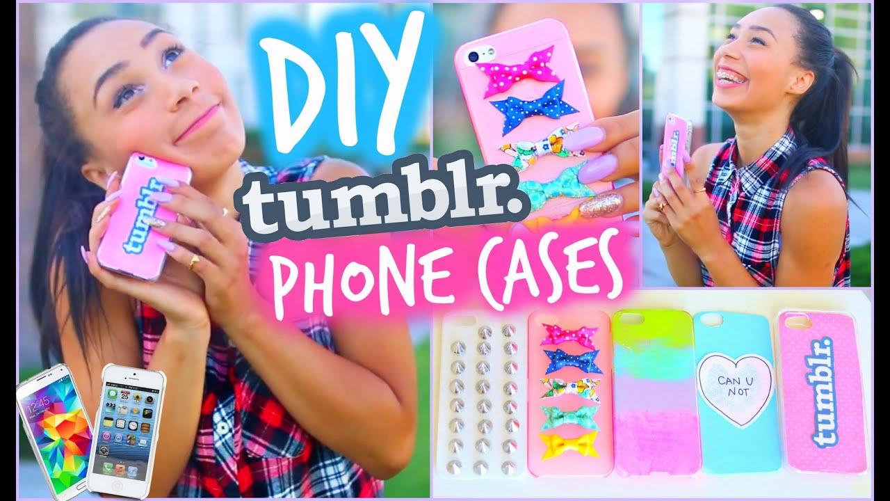 Easy Tumblr Diys Diy 5 Easy Phone Cases