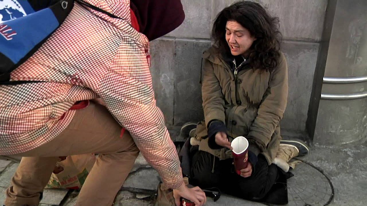 An essay about helping the homeless