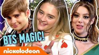 Lizzy Greene, Kira Kosarin, Jack Griffo & More BTS Magic! | #NickStarsIRL