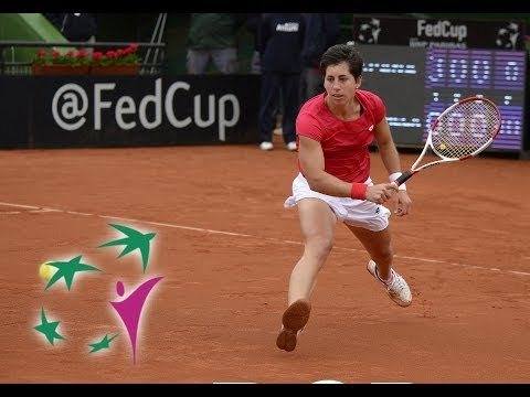 Highlights: Carla Suarez Navarro (ESP) v Barbora Zahlavova Strycova (CZE)