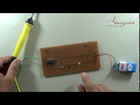 Make a Electricity Detector at Home - Science Project ( Hindi / Urdu )