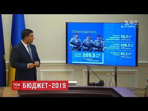 Кабмін затвердив проект бюджету на 2019 рік