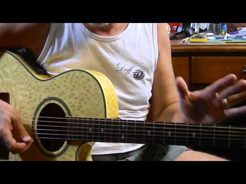Easy - E Blues Jam l - Learn How to Play The Blues on Acoustic Guitar