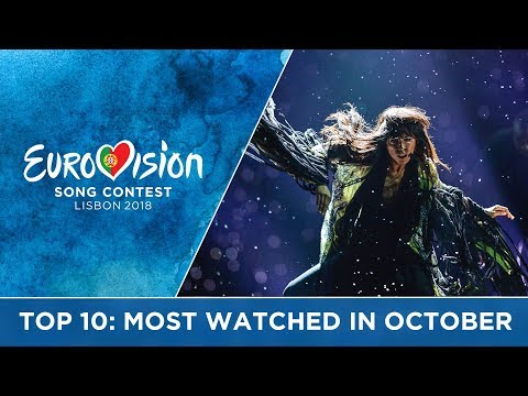 TOP 10: Most watched in October 2017 - Eurovision Song Contest