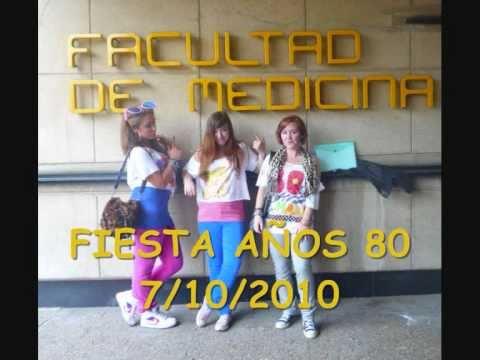 Fiesta a os 80 facultad de medicina cantabria youtube - Decoracion fiesta 80 anos ...