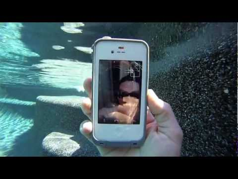 iPhone 4s facetime video under the water with LifeProof case