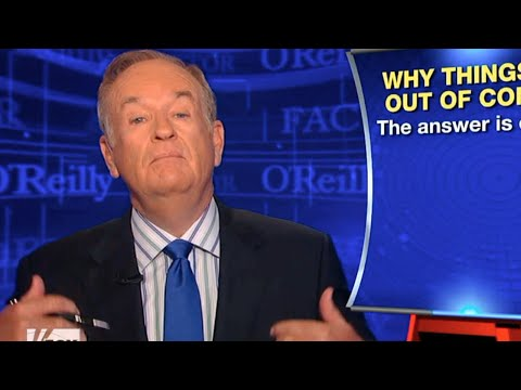 Bill O 'Reilly Explains Dem Voting - It's Not Him, It's You
