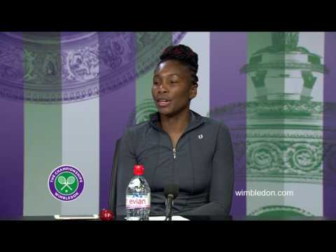 Venus Williams second round press conference