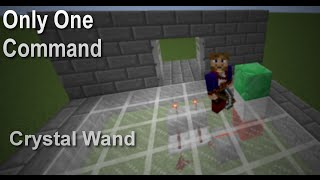 Crystal Wand in Only One Command [Zelda Mapmaking 1.9]
