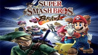 Super Smash Bros. Brawl - Part 1 - Classic Mode on Easy difficulty with Mario